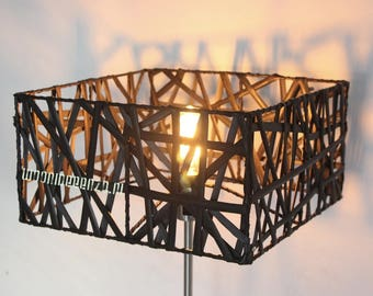 Bamboe Lampenkap Xl : Lampenkappen etsy nl