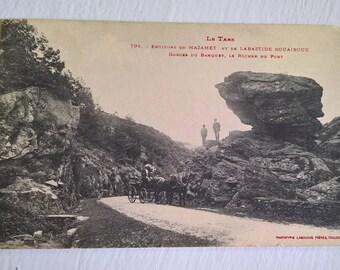 Mazamet Affiche chemin de fer Orléans et Midi
