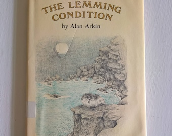 The Lemming Condition by Alan Arkin --- Illustrated by Joan Sandin --- Vintage 1970's Children Book --- Retro Young Readers Philosophy Tale