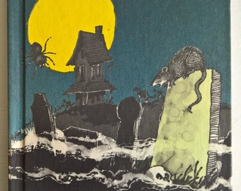 SALE The Graveyard and Other Not-So-Scary Stories by William E. Warren - Illustrated by Edward Frascino --- Vintage Children's Suspense Book