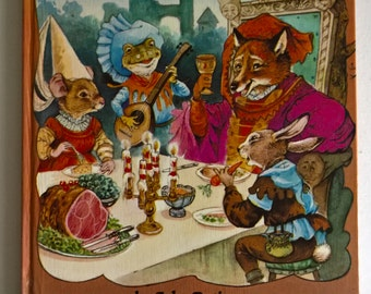 CLEARANCE The Midsummer Banquet by John Patience Tales from Fern Hollow Vintage Animal Fantasy Children Illustrated Book --- Magical Nursery