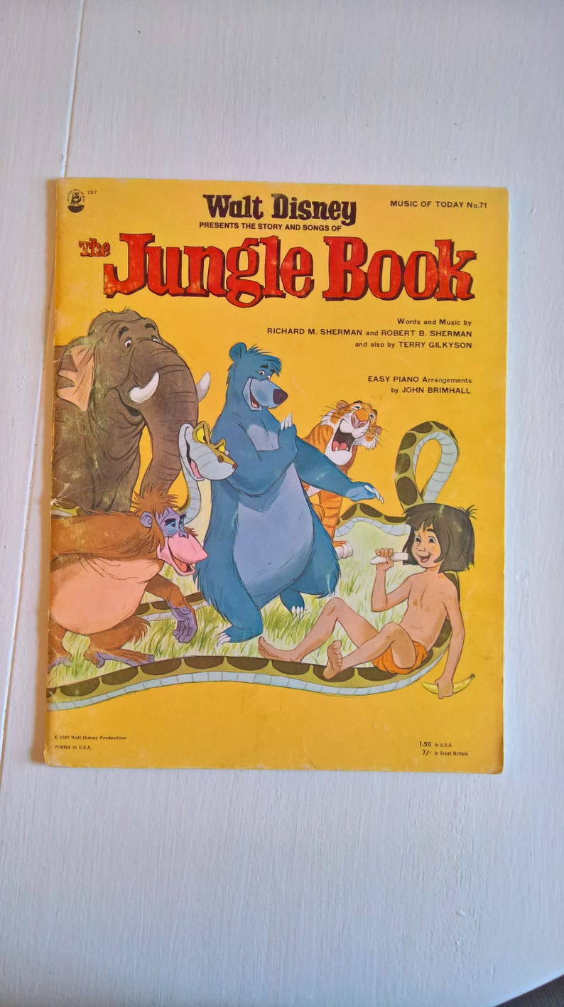New Jungle Book Songs