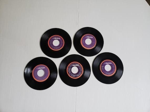 Vintage The Stylistics 45 RPM Records Retro 1970's Soul Music Jukebox Vinyl Philadelphia R&B Philly City Funky Jazz Collection