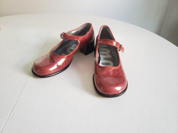 Vintage Sam /& Libby Flower Beaded Heeled Sandals