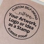 Custom Self-inking Stamp With Your Logo or Artwork.