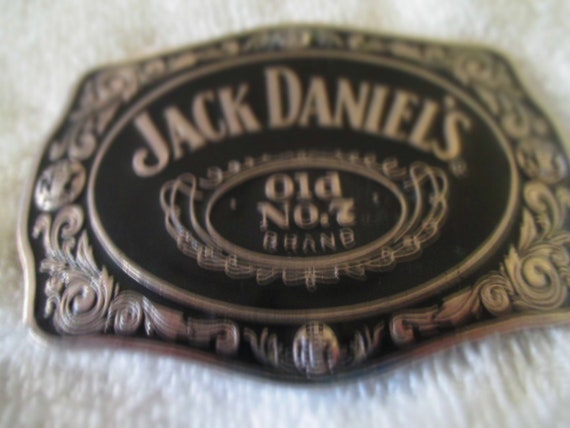 Jack Daniel/'s Old No 7 Brand Advertising Belt Buckle  3 Available
