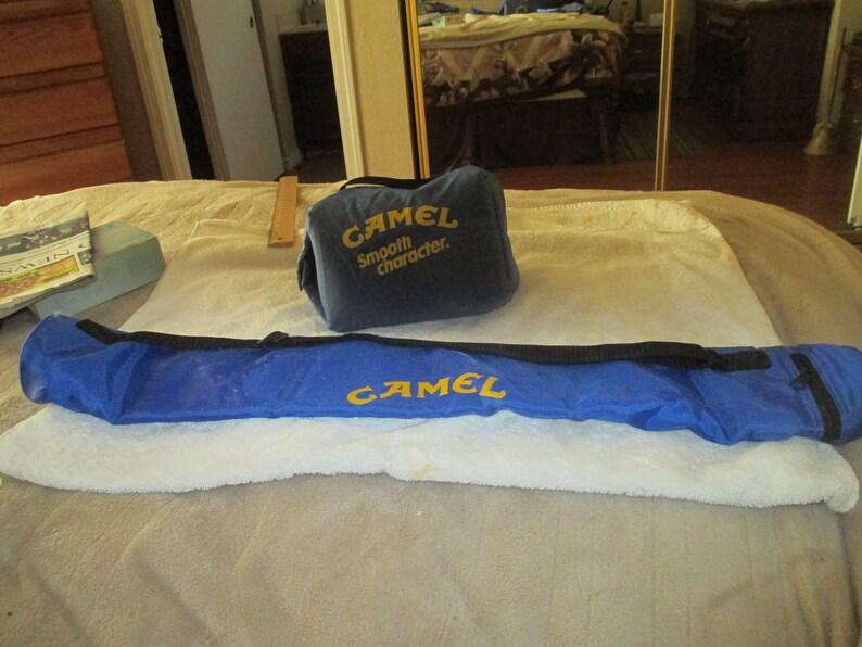 Vintage Camel Joe 6-Pack Can Carrier /& Fanny Pack