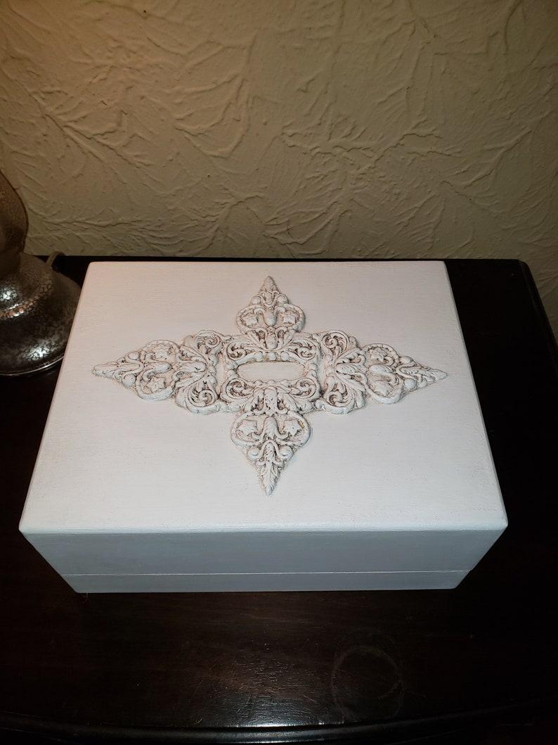 Jewelry box jewelry  holder tabletop jewelry box jewelry storage jewelry chest jewelry organizer