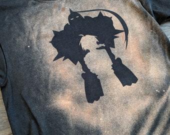 FullMetal Alchemist FMA Inspired Handmade Bleach Shirt