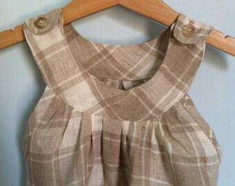 BABY LINEN DRESS