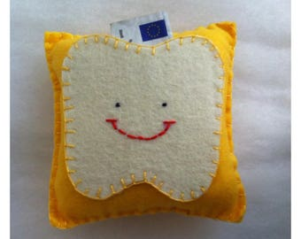 the tooth fairy's yellow pad