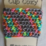 Coffee Cup Cozy, Cup Cozy, Crochet Coffee Cup Cozy,Summer Cup Cozy, Rainbow Cup Cozy