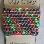 Coffee Cup Cozy, Cup Cozy, Crochet Coffee Cup Cozy,Summer Cup Cozy, Rainbow Cup Cozy