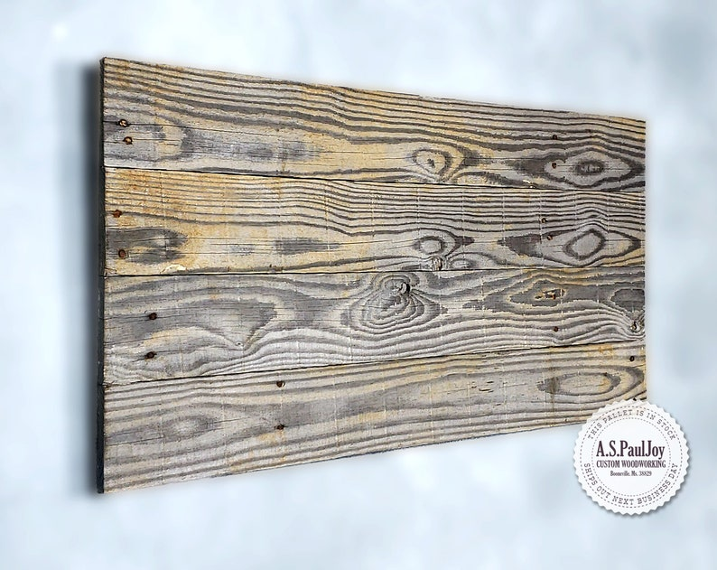 Pleasing Grey Rustic Reclaimed Wood Photo Display Board Pallet Etsy Download Free Architecture Designs Itiscsunscenecom