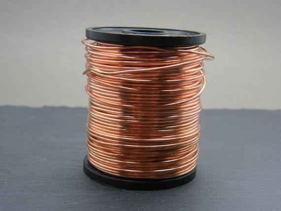 Kupferdraht 1mm gauge nackten Kupferdraht Antik kupfernen | Etsy