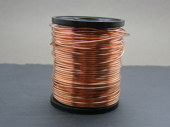 Copper wire ~ 0.8mm gauge bare copper wire ~ Antique Copper jewellery wire ~ 20g copper ~ Jewellery supplies ~ Wire wrapping ~ Jewelry wire