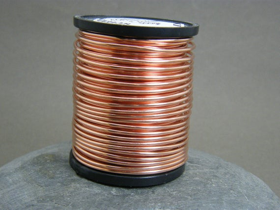 Copper wire 16 mm gauge bare copper wire antique copper wire copper wire 16 mm gauge bare copper wire antique copper wire 16g copper wire jewellery supplies wire wrapping jewelry wire uk from greentooth Gallery