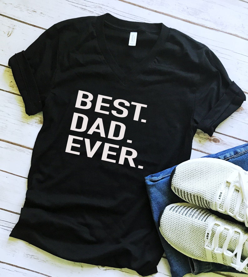 808901f8 Men's Best Dad Ever Shirt Funny Father's Day Best | Etsy
