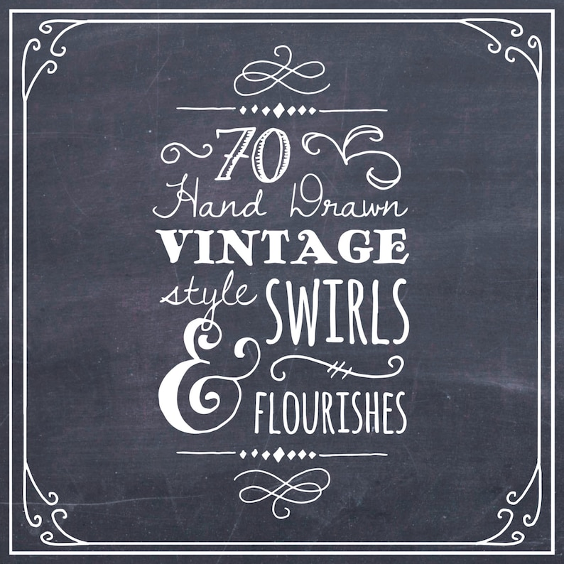 chalkboard lettering examples