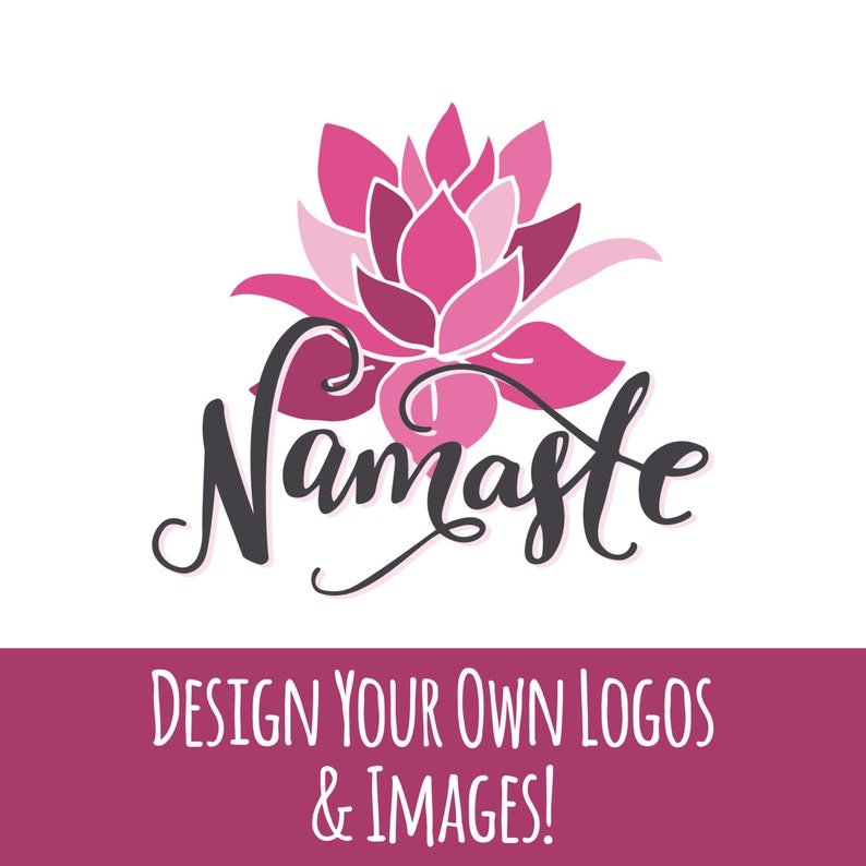 Yoga Quotes & Lotus Flowers Clipart, Yoga Clipart, Yoga, Clipart, Clip Art,  Yoga SVG, Lotus, Namaste, Om, Peace, Zen, SVG, Vector, Download