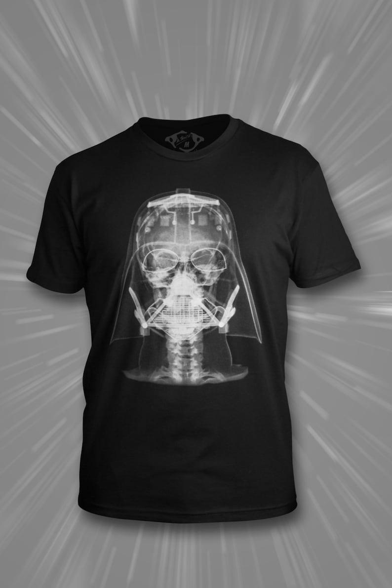Radiology T-shirt: Darth Vader image 0
