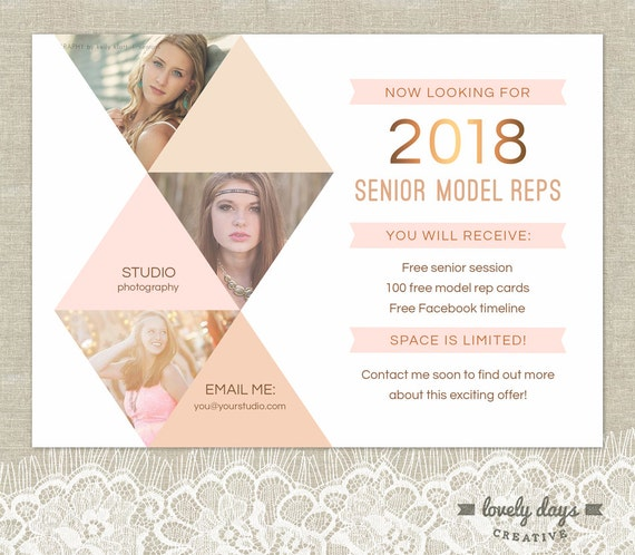 Senior photography marketing senior rep template instant etsy image 0 reheart Image collections