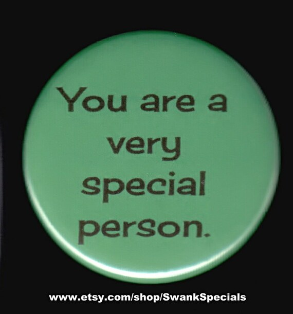 you are a special person