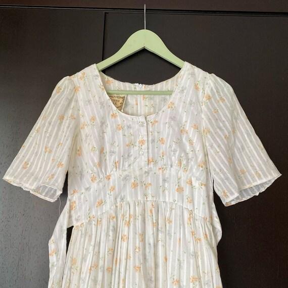Gunne Sax floral dress size 9 - image 5