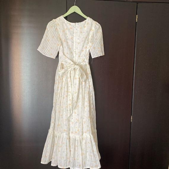 Gunne Sax floral dress size 9 - image 6
