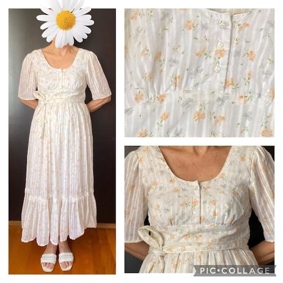 Gunne Sax floral dress size 9 - image 1