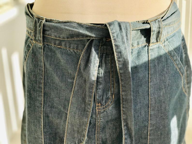 vintage clothes autumn skirt vintage autumn skirt jeans skirt blue jeans skirt denim mini skirt vintage 80s jeans skirt