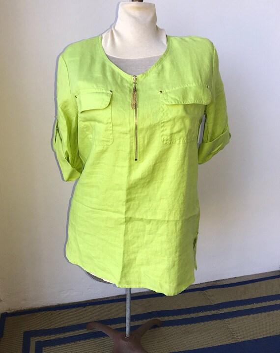 summer trends summer outfit summer linen top line… - image 1