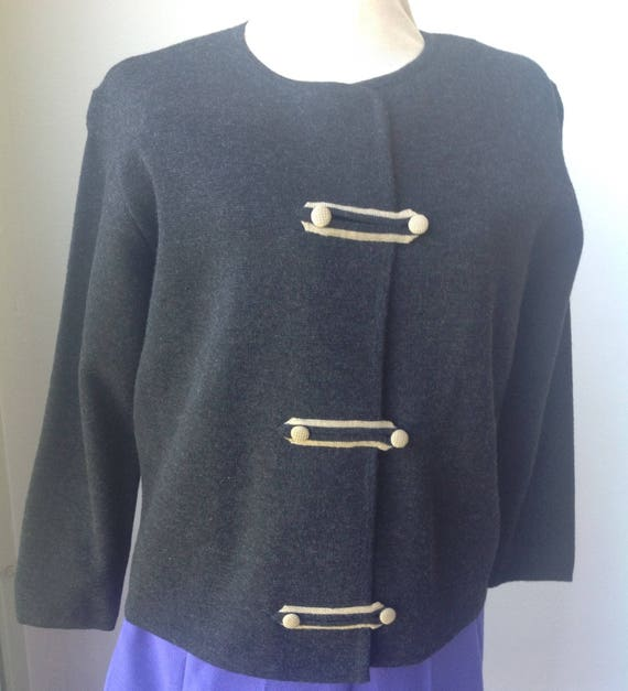 boiled wool vintage sweater boutique sweater itali