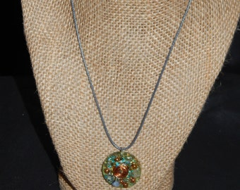 Orgone Eternal Circle Necklace Pendant