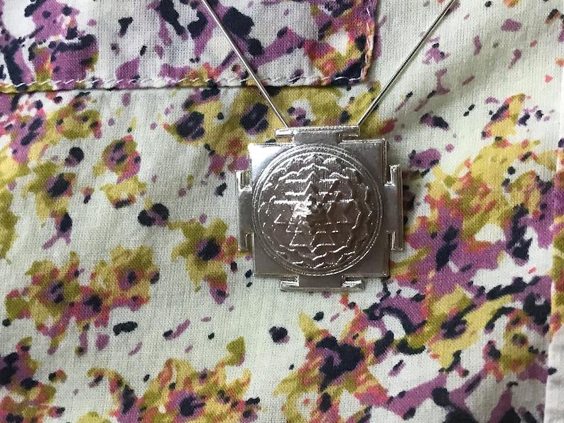 Shri Chakra Pendant image 0