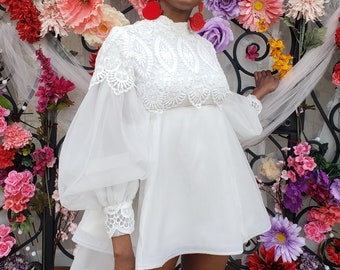 Reserved Reworked 70s Emma Domb Wedding Dress Tunic
