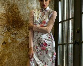 ef1853670dc Vintage Cheongsam Dress