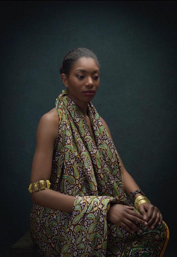 Vintage Paisley Sari - image 6