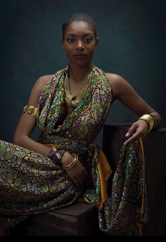 Vintage Paisley Sari - image 4