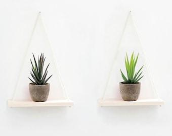 Hanging Wall Shelves (Set of 2)
