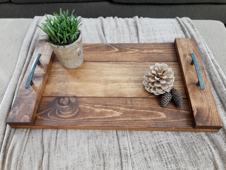The Farmhouse Tray  3 size options  Handcrafted Rustic image 0