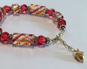 CREATE your dreams with this Powerful, LOVE Infused Swarovski Crystal Bracelet by Crystal Vibrations Jewelry