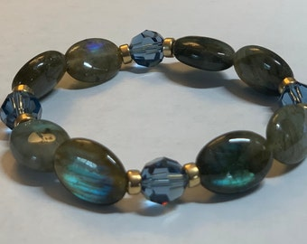 Allow & Receive Energy Infused Swarovski Crystal Healing Bracelet by Crystal Vibrations Jewelry