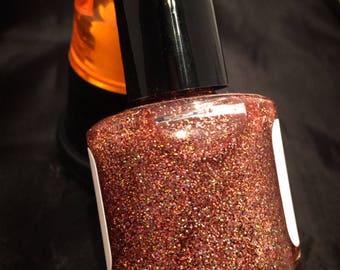 NEW---Copper Kettle---handmade glitter nail polish 2017