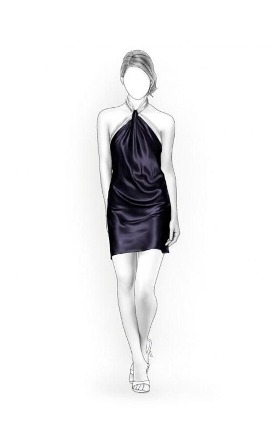 Lekala 5908 Kleid PDF Muster Nähmuster PDF | Etsy