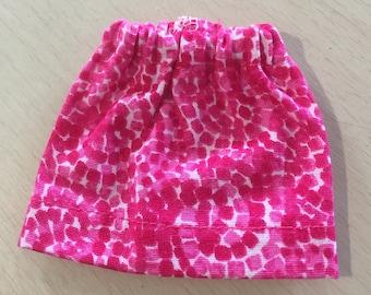 Pink Barbie Doll Skirt