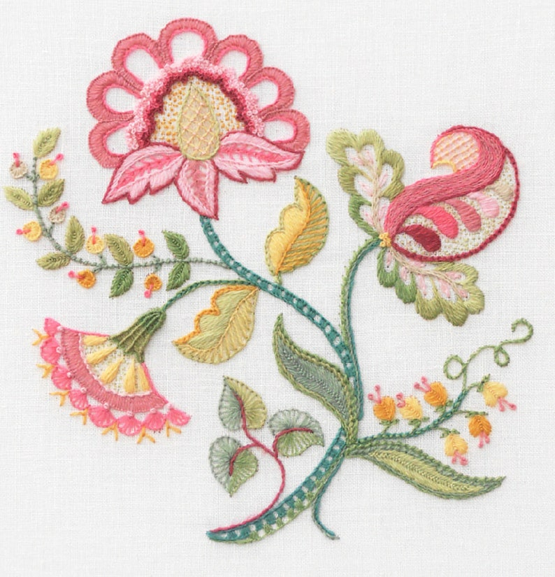 Crewel Embroidery Kit  SWEET REPOSE image 0