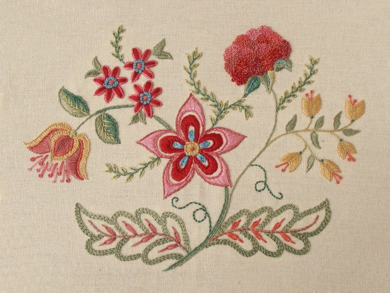 Embroidery Kit  JEWELS of SUMMER image 0