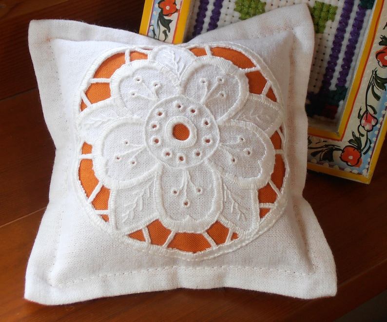 Cutwork Pincushion