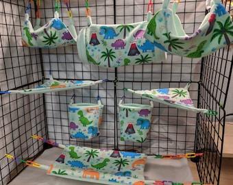 8 Piece Sugar Glider Cage SetMonkeys In JungleSugar Glider Accessories
